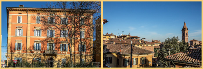 charming b&b in Bologna centre